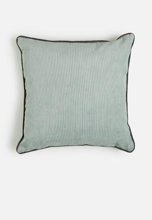 Sixth Floor Cord Cushion  89% Polyester 10% Polyamide 1% Cotton