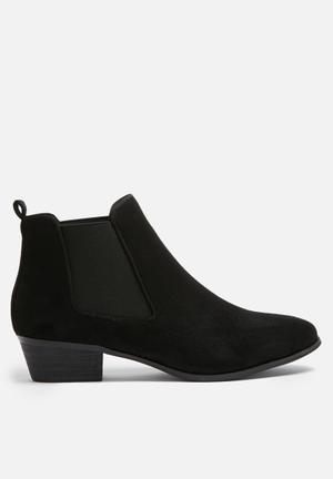 Dailyfriday Flat Chelsea Boots Black