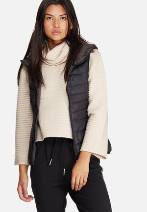 Tahoe hooded sleeveless jacket