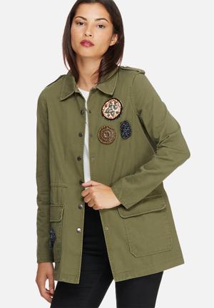 Maya army jacket