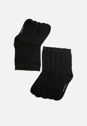 Plain socks - 5 pack