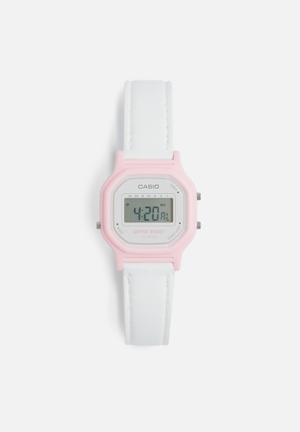 Digital wrist watch