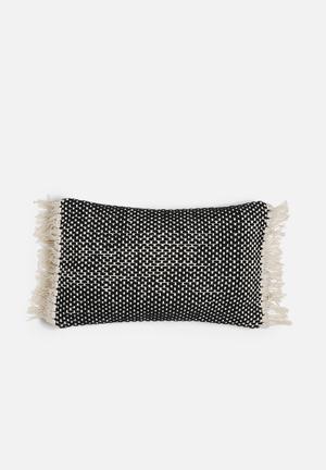 Fringe cushion cover