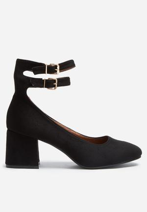 Footwork Zahara Heels Black