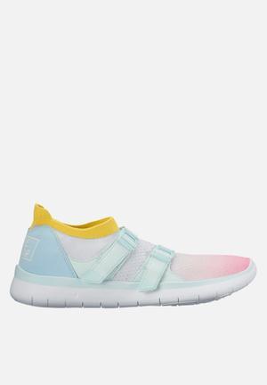Nike Sock Racer Ultra Flyknit Sneakers White/Glacier Blue-Racer Pink