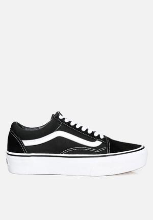 Vans Old Skool Platform Sneakers Black