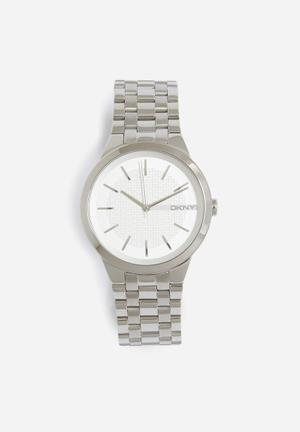 DKNY Park Slope Watches Silver