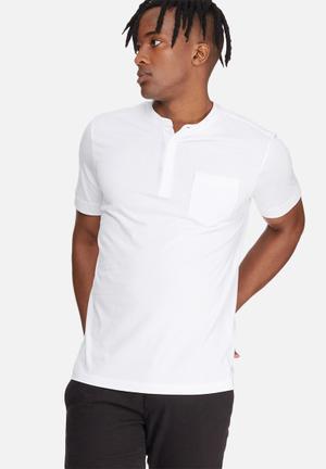 Jack & Jones Harrington Tee T-Shirts & Vests White