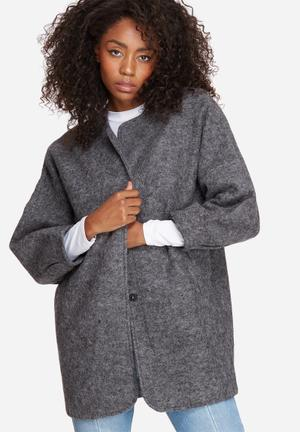 Frosty wool jacket
