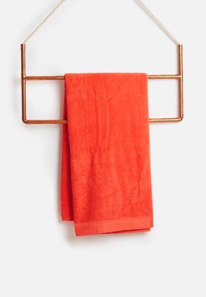 Sixth Floor Coral Bath Sheet Towels 100% Cotton, 500gsm