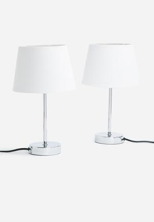 Sixth Floor Mini Table Lamp Set Lighting Metal