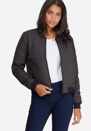 Hollie quilted bomber jacket