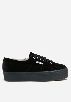 SUPERGA 2790 Velvet Sneakers Black