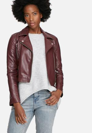 Rida leather jacket