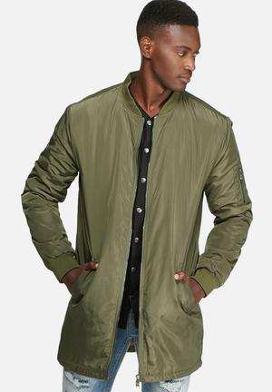 Camp long padded bomber