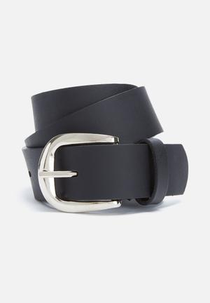 Everyday leather jeans belt