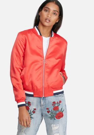 Starly embroidery bomber jacket