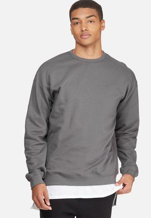 Oversized Pullover Crew Sweat