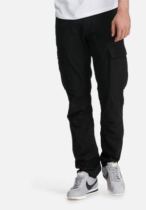 PRODUKT Canvas Cargo Pants Black