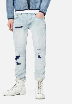 G-Star RAW 3301 Tapered Jeans Blue