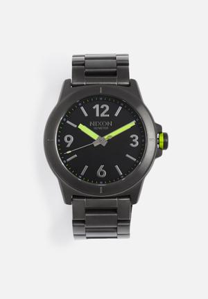Nixon Cardiff Watches Black