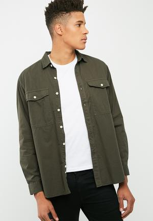 Loose Fit Utility Shirt