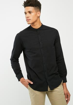 Manderin Regular Fit Shirt