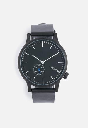 Komono  Winston Subs Watches Black