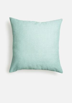 Duck egg cushion cover