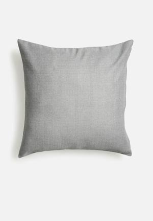 Grey smoke cushion cover