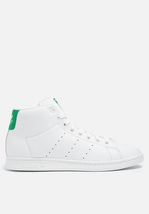 Adidas Originals Stan Smith Mid Sneakers White/Green