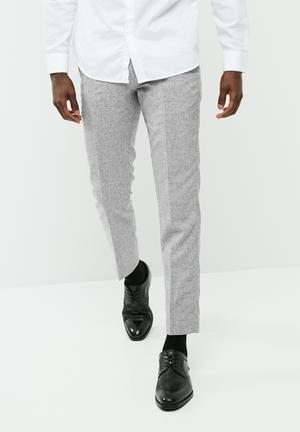 Jack & Jones Thomas Slim Trouser Formal Pants Grey
