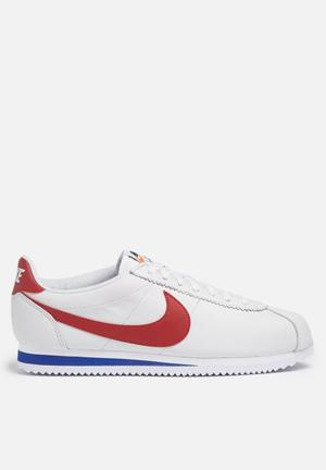 Nike Classic Cortez SE Sneakers White / Varsity Red / Royal