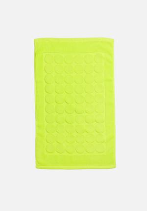 Sixth Floor Bubble Bath Mat 100% Cotton, 400gsm