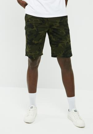 Elasticated basic shorts