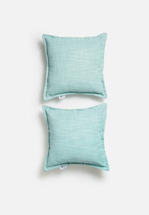 Sixth Floor Set Of 2 Flynn Cushion Covers 90% Polyester 10% Linen