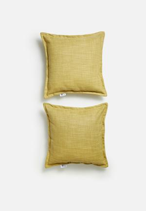Set of 2 Flynn cushion covers