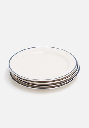 Varsity side plate - set of 4