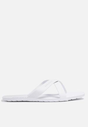 Diesel  Wash Sandal White