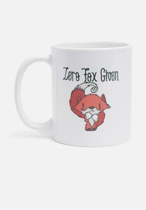 Zero fox mug