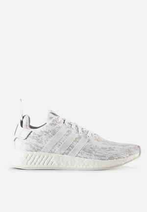 Adidas Originals NMD_R2 Sneakers White/Grey
