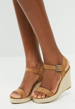 ONLY Amelia Heeled Sandal Tan