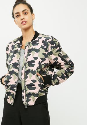 Dicte printed bomber jacket