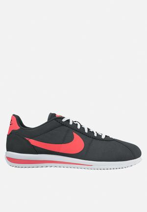 Nike Cortez Ultra SD Sneakers Anthracite Siren Red Black