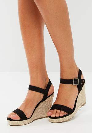 ONLY Amelia Heeled Sandal Black