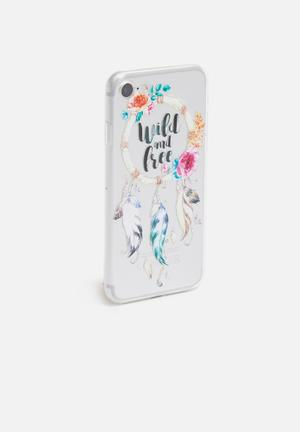 Wild and free - iPhone & Samsung cover