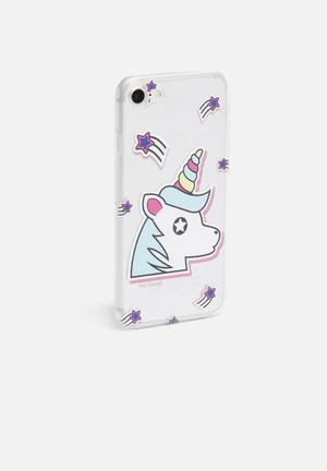 Shooting star unicorn - iPhone & Samsung cover