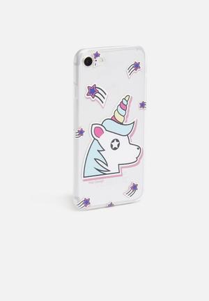 Shooting star unicorn - iPhone & Samsung cover