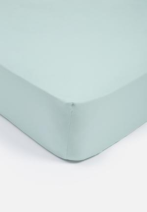 Cotton fitted sheet