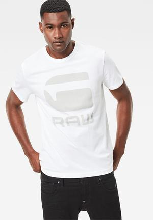 G-Star RAW Tomber Tee T-Shirts & Vests White
